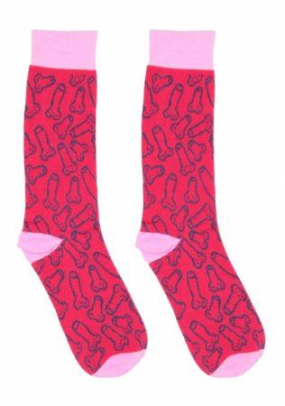 S-Line Sexy Socks - pamut zokni - fütyis