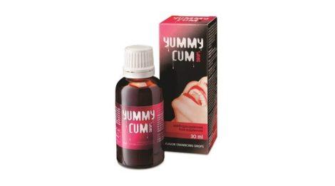 Yummy Cum Drops - étrendkiegészítő csepp férfiaknak (30ml)