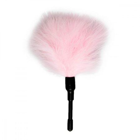Easytoys Mini - valódi toll cirógató (pink)