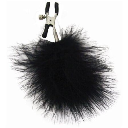 S&M - tollas bimbócsipesz (fekete)