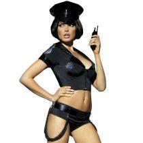 Obsessive Police - rendőrnő jelmez  szett