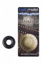 BathMate - Gladiator szilikon erekciógyűrű (fekete)