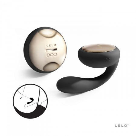 LELO Ida - rotáló párvibrátor (fekete)