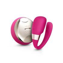 LELO Tiani 3 - szilikon párvibrátor (pink)