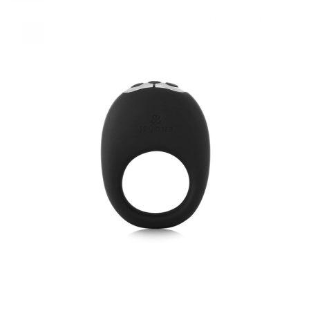 Je Joue Mio - akkus, vízálló, vibrációs péniszgyűrű (fekete)
