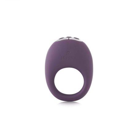 Je Joue Mio - akkus, vízálló, vibrációs péniszgyűrű (lila)