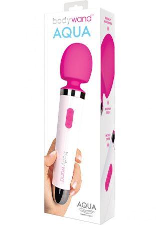 Bodywand Aqua Wand - vízálló masszírozó vibrátor (fehér-pink)