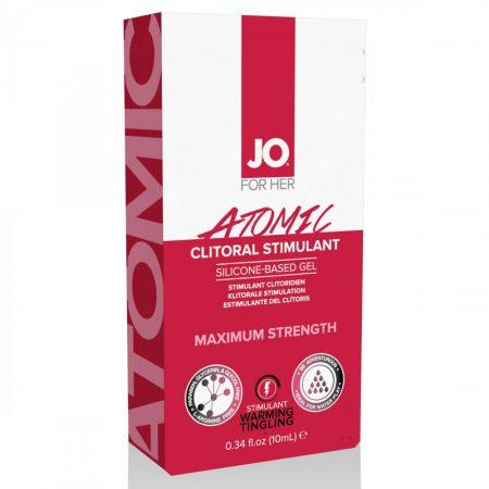 JO ATOMIC - klitorisz stimuláló gél nőknek (10ml)