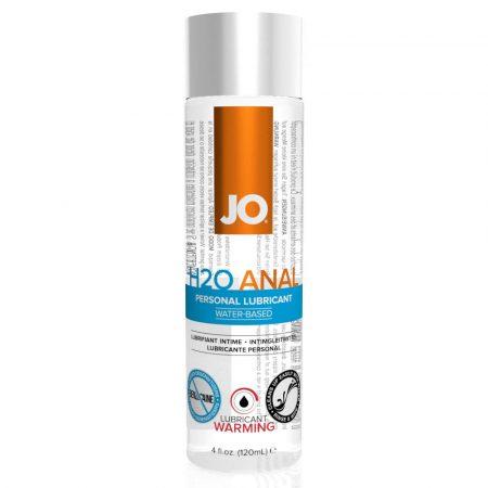 JO H2O Anal Warming - melegítő vízbázisú anál síkosító (120ml)