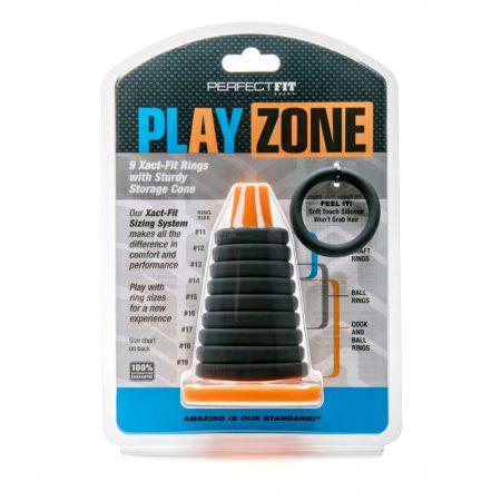 Play Zone - pénisz-, heregyűrű és nyújtó szett (9 részes)