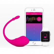LOVENSE Lush - újratölthető okos vibrotojás (pink)