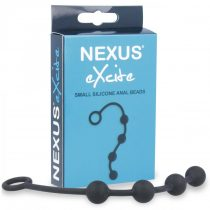Nexus Excite - kis anál gyöngysor (4 golyós) - fekete
