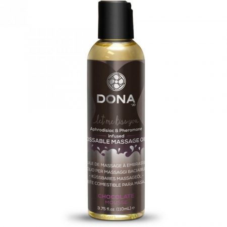 DONA Kissable Chocolate Mousse - ízes masszázsolaj (110ml)