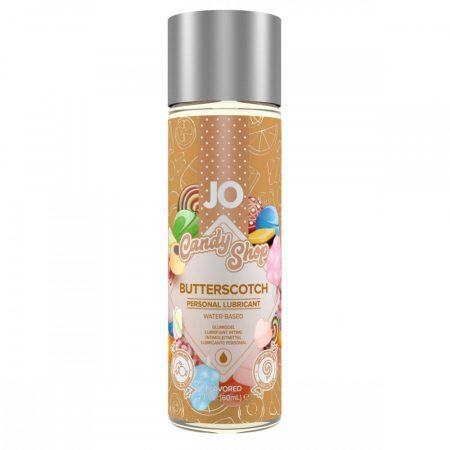JO Candy Shop Butterscotch - vízbázisú síkosító (60ml) - tejkaramella