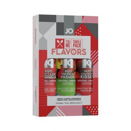 JO System Flavors - ízes síkosító szett (3db)