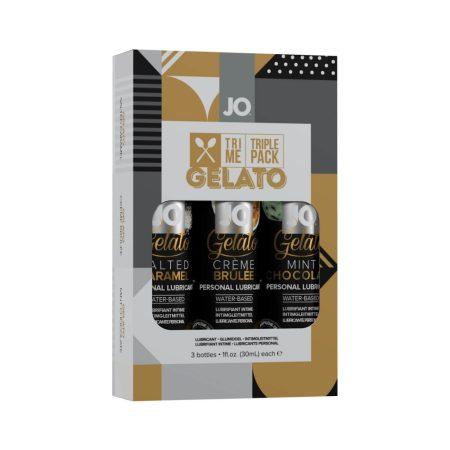 JO System Gelato - ízes síkosító szett (3db)