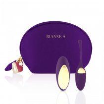 Rianne Essentials Pulsy - akkus, rádiós vibrációs tojás (lila)