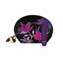 Rianne Essentials Mini-G Floral - szilikon G-pont vibrátor (lila)