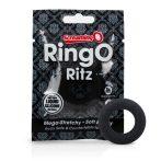 Screaming O Ritz - szilikon péniszgyűrű (fekete)
