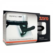 Perfect Fit ZORO 6.5- felcsatolható dildó (16,5cm) - fekete