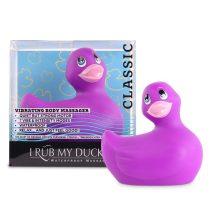 My Duckie Classic 2.0 - játékos kacsa vízálló csiklóvibrátor (lila)