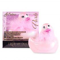 My Duckie Paris 2.0 - játékos kacsa vízálló csiklóvibrátor (pink)