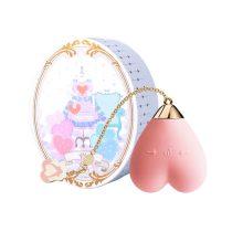 ZALO Baby Heart - akkus, vízálló luxus csikló vibrátor (pink)