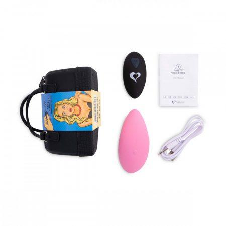 FEELZTOYS Panty - akkus, rádiós csiklóvibrátor (pink)