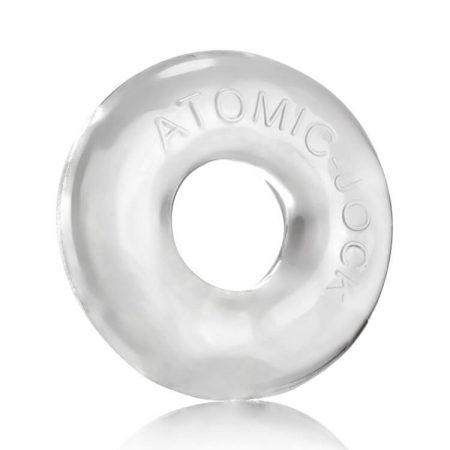 OXBALLS Donut 2 - extra erős péniszgyűrű (áttetsző)
