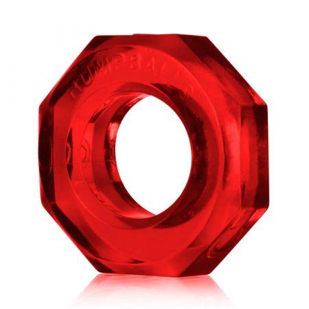 OXBALLS Humpballs - extra erős péniszgyűrű (piros)