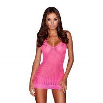 Lapdance Lace - nyakpántos necc miniruha (pink)