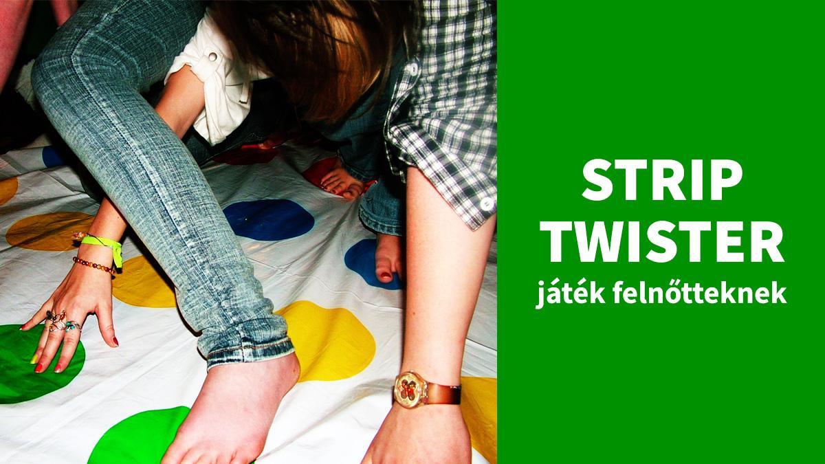 Strip Twister - Játék felnőtteknek